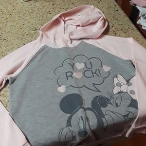 Hoodie girls Minnie Mouse sweater